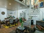 Charming newly renovated XVII Century loft in the center of Colonial Zone.