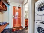 Entry - Washer and Dryer