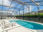 Sparkling Pool with Extended Sun Deck
