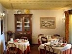 Bed and Breakfast 'IL Casolare di Libbiano' - Sala da pranzo