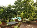 Bed and Breakfast 'IL Casolare di Libbiano' - terrazza giardino