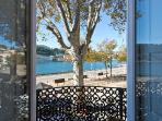 View of the Douro River from the kitchen and living room balcony,