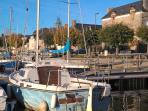 Le port de Lyvet, ambiance maritime