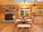 Dining Area at Alpine Romance