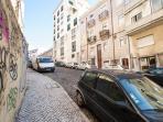 Street (parking free)