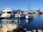 View of Paphos Harbour.