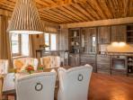 Küche im Landhaus 'Steinfuchs'