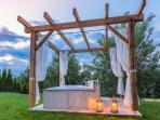 Himmlisch Baden im Garten-Spa des Landhauses