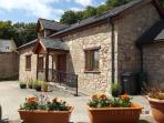 Croeso i / Welcome to Henblas Holiday Cottage. Surrounded by woodland, wildlife & stunning views.