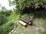 Picnic area from above