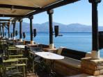Seaside coffee bar in Longos, 300 m from Harmony