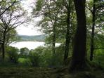 View from Stagshaw Gardens to Windermere