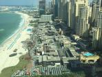 View from Albateen of JBR