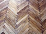 wooden floor all over