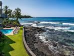 View looking south. Another beautiful day on the Big Island.  Feel the ocean breezes and just breath