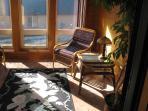 Sun room upstairs