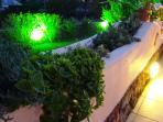 Garden illuminations!