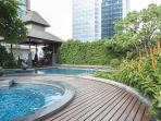 Resort amenities in the middle of Bangkok