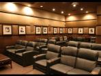 Our Sister property clubhouse movie theater. Free to book and comes with free popcorn too.