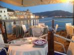waterfront restaurant in village