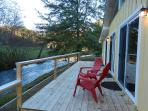 Creekside deck