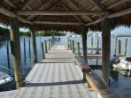 OUR DOCKS ARE PERFECT TO FISH AND WATCH THE SUNSET!!!