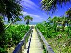 Beach Access at Safety Harbor