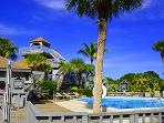 Pool and Club House at Safety Harbor
