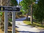 Jogging Path around the Lake at Safety Harbor