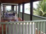 Villa Belo covered decks with day beds for ultimate relaxation.