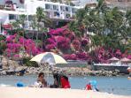 Las Hadas beach