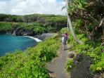 3 Mile Nature Trail at Waianapanapa State Park