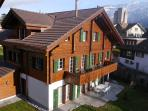 CityChalet apartment Alpenrose is the entire ground floor of the Chalet.