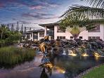 Entrance to Bali Hai Villas