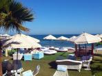 Marbella beach restaurant