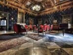 interno palazzo della direzione Montevecchio visitabile