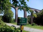 Viaduc de la Perriere à Louroux de Bouble