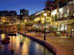 Spinola Bay promenade 300 mt