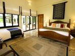 Mountain View Villas - Bedroom 4 Double and single bed with ensuite bathroom.