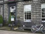 The Scottish Malt Whisky Society, a few doors along. Pop in for a dram or a bite to eat.