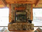 Redwood Lane Retreat, Linger by the Fireplace!