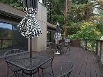 Redwood Lane Retreat, Expansive Deck