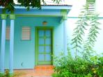 Villa Soleil bland entrance door