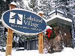 Lakeland Village Beach, Mountain & Ski Resort Entrance