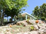 House on a small limestone hill with great views