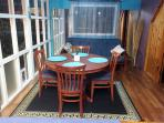 SUNROOM  4 SEATER DINING TABLE SOFA COUCH