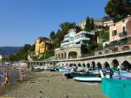 Beachfront holiday villa Amaranta Levanto Liguria