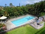 Private pool located on the slope of Mauna Loa dorectly above Kailua Village.
