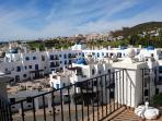 view from the balcony of Puerto de la Duquesa golf course
