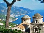 21 Ravello view on the Amalfi Coast